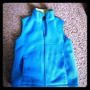 LL Bean kids fleece vest jacket (boys)